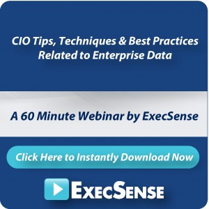 CIO Tips, Techniques &amp; Best Practices for Enterprise Data Strategies